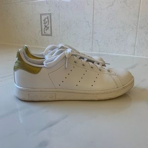 Gold Stan Smith Shoes
